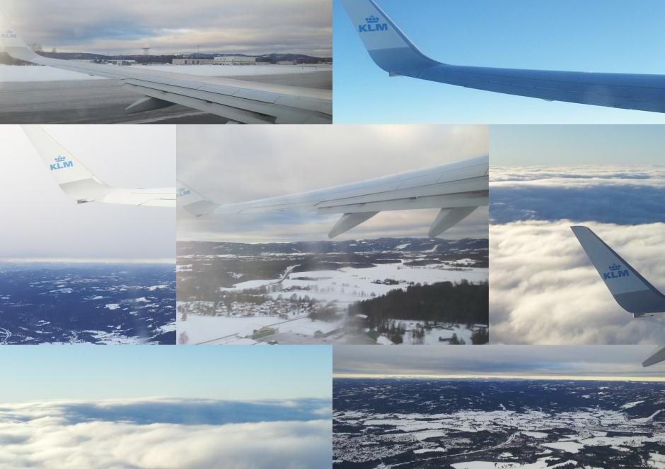 Noorwegenvanuit de lucht Gardemoen