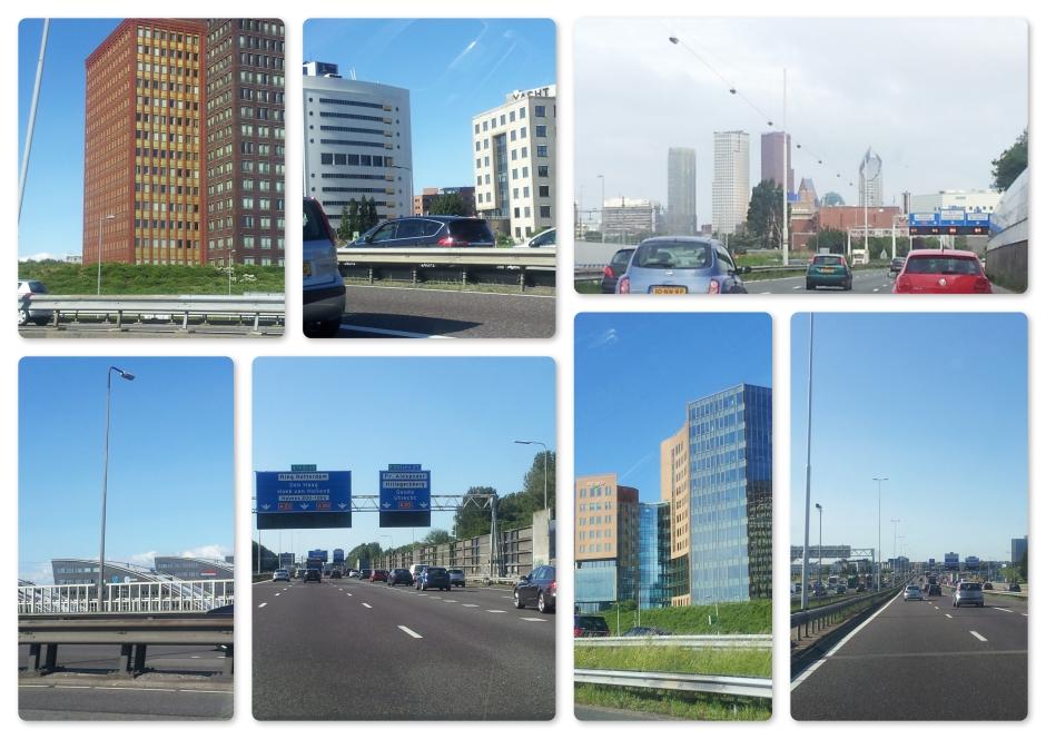 Nederland,wat je ziet vanaf de snelweg