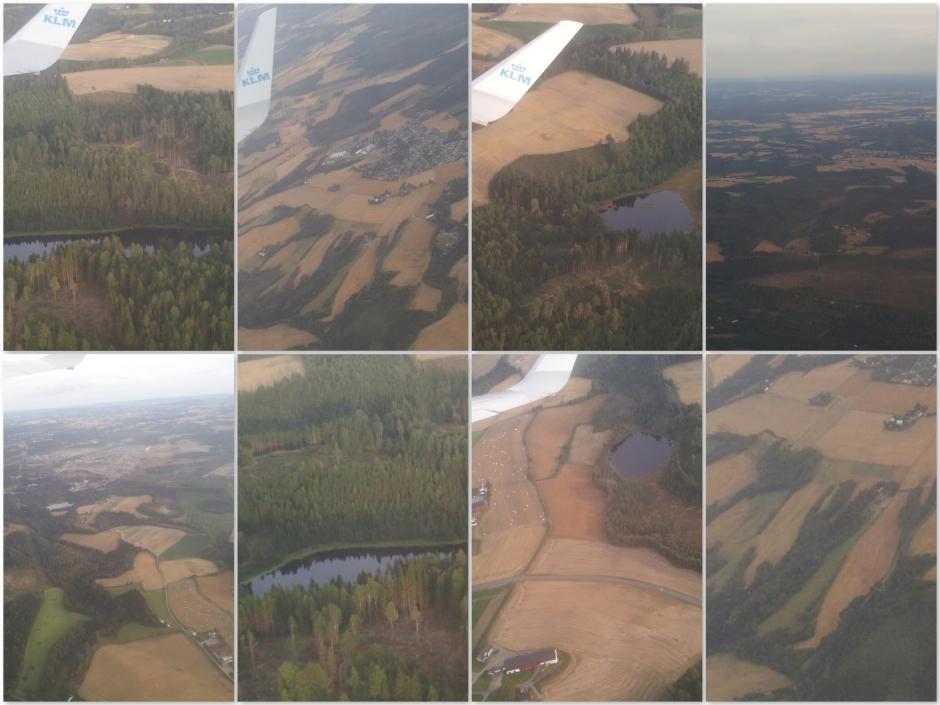 Noorwegen uit de lucht
