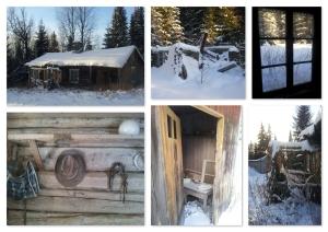 oud vervallen huis