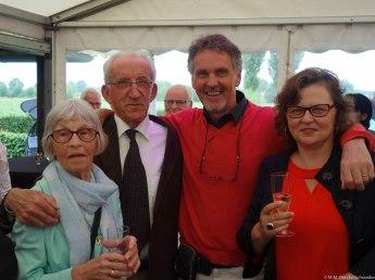 (O)ma Derckx, moeder van Johan, oom Jan, broer van vader van Johan, Johan, en de zus van Johan
